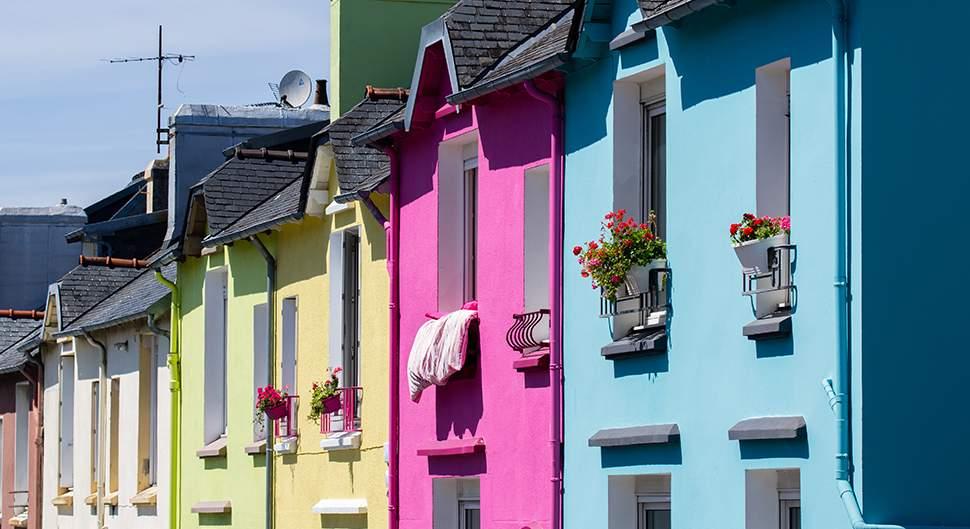 peinture pour la façade