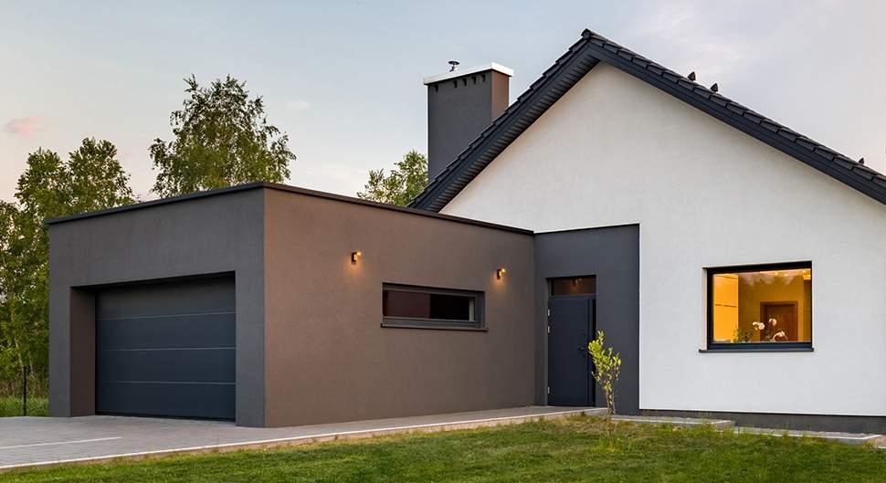 Une extension pour un garage
