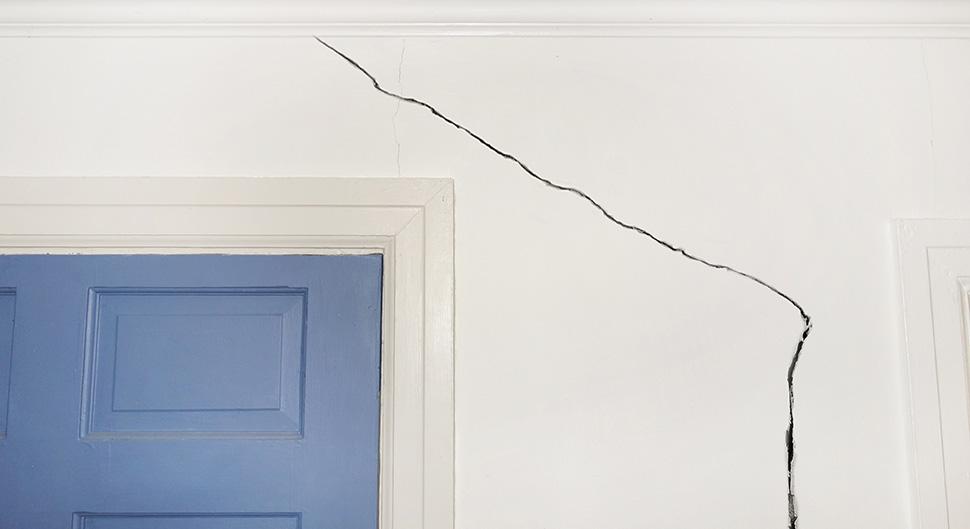 Réparer les fissures d'un mur porteur