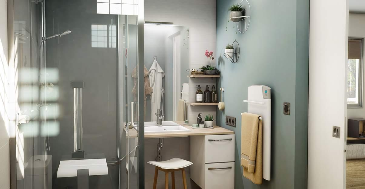 logement évolutif : la salle de bain