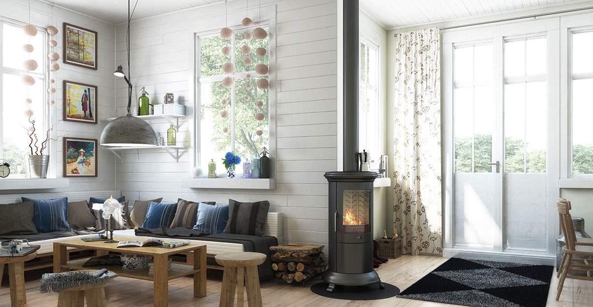 Chauffage en rénovation de maison : le chauffage bois