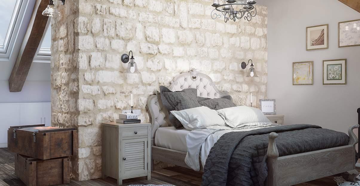 Parement Mural En Pierre Pour Nouveau Style Dans Votre Chambre