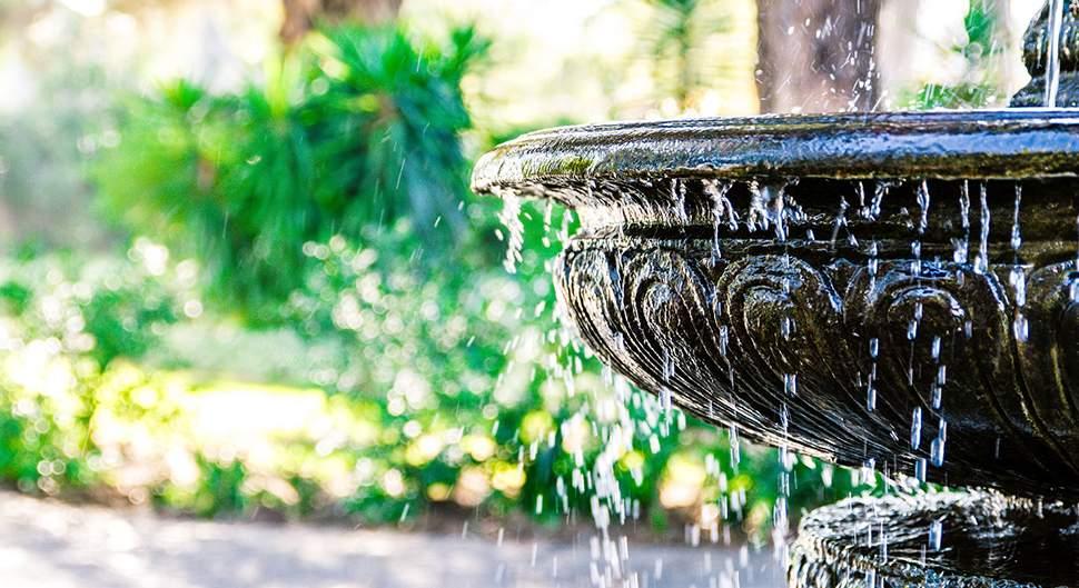 Quelle fontaine pour mon jardin ?