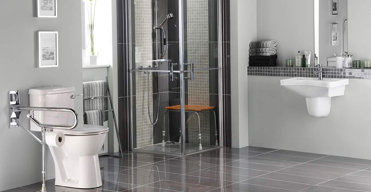 Salle de bain accessible sécurisée et esthétique
