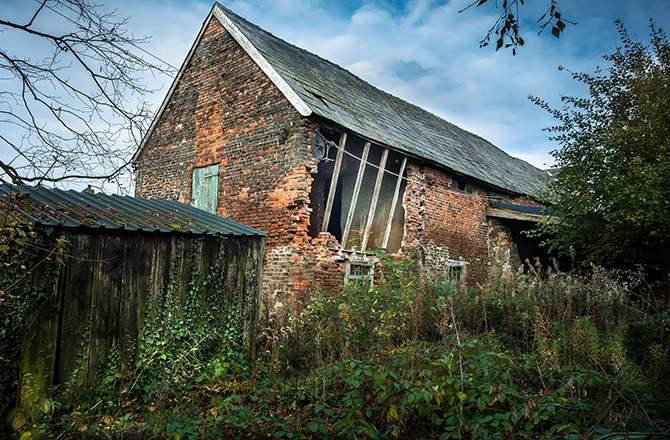 Rénover une grange en ruine: la destination