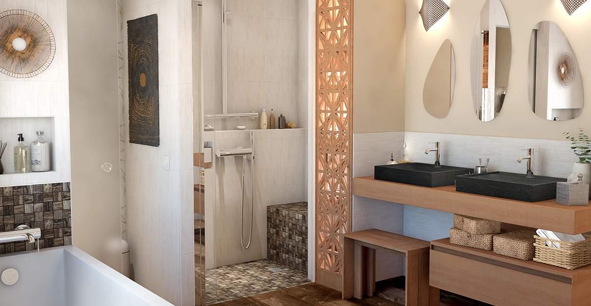 Une salle de bain plus accessible