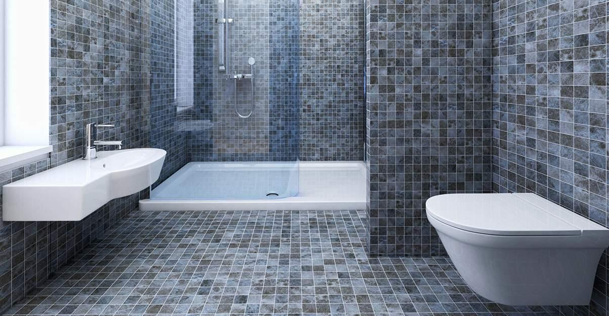 Sol de salle de bains: le classique carrelage