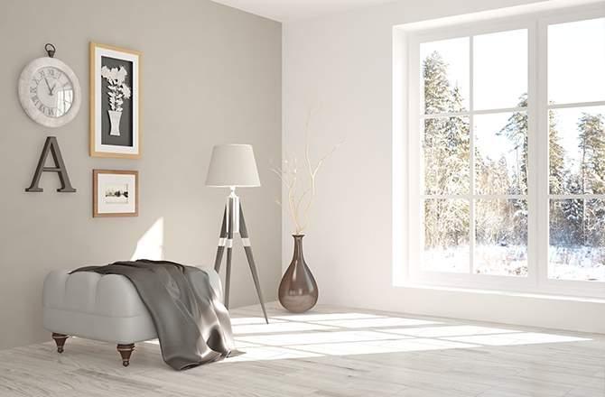 Style scandinave salon - La Maison Saint-Gobain