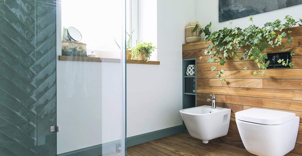 De la nature dans la salle de bain