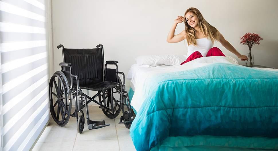 Chambre accessible - Accessibilité et sécurité dans la chambre