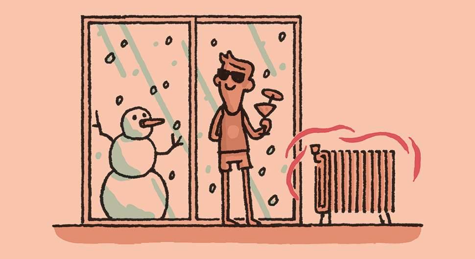 Une maison mieux tempérée