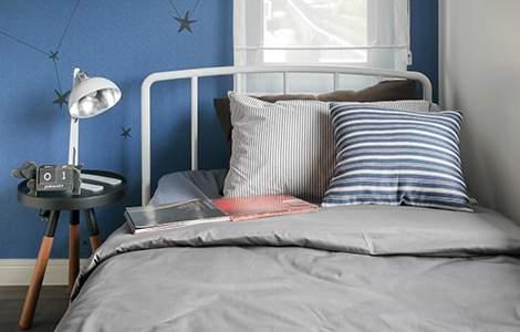 Aménager une petite chambre pour deux ados: la deco