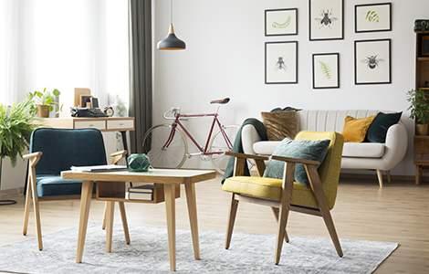 Style vintage - Tout un jeu de coloris - La Maison Saint-Gobain
