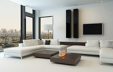 Style moderne design - Matières et éclairage - Saint-Gobain.fr