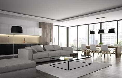 Style moderne design - Quand la modernité fait salon - Saint-Gobain.fr
