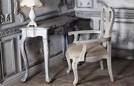 Style Classique-Chic - façon Shabby-Chic - Saint-Gobain.fr