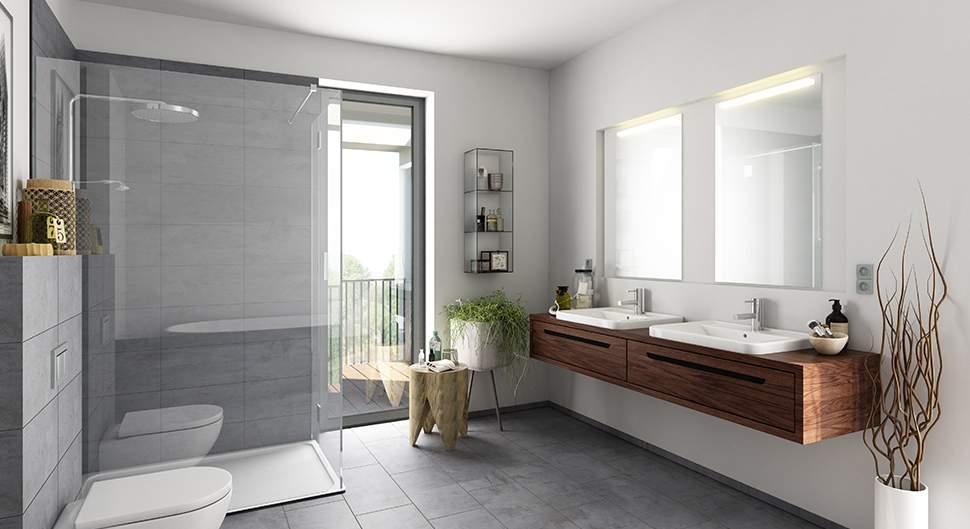 Revêtement mural de salle de bain:  bien le choisir