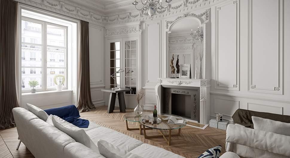 Style Classique-Chic appart haussmanien - Saint-Gobain.fr