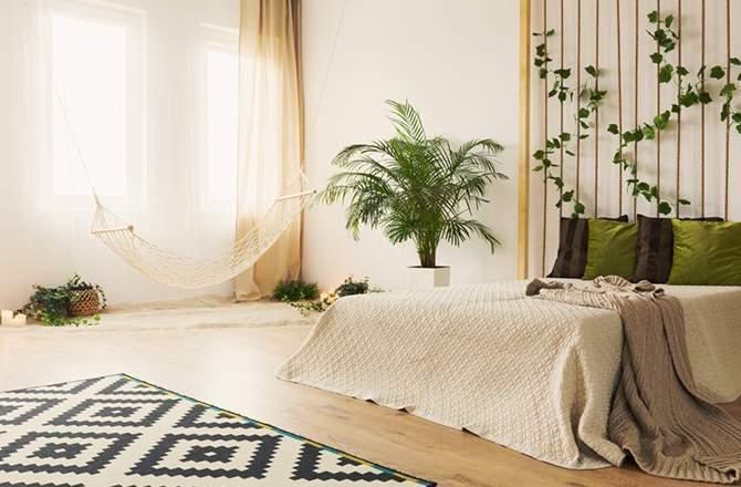 Style Ethnique chambre jungle Saint-Gobain.fr