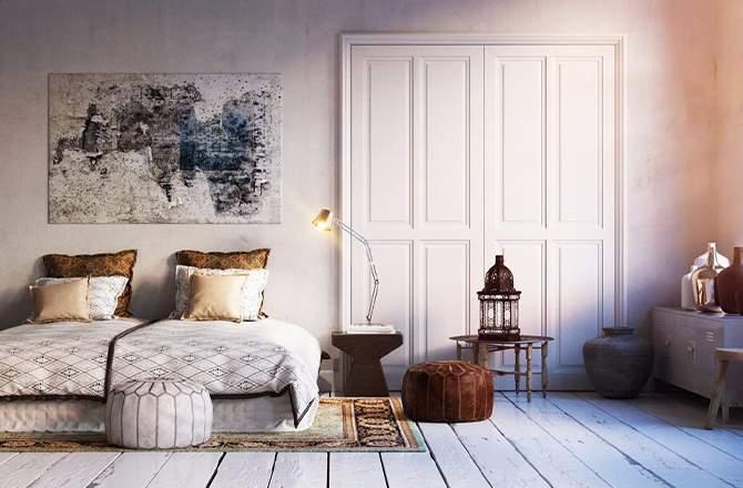 Style Ethnique chambre orientale Saint-Gobain.fr