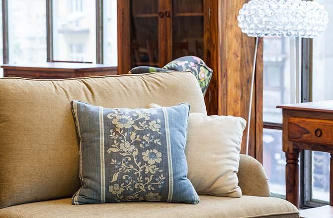 Style Campagne-chic coussins champêtre - La Maison Saint-Gobain