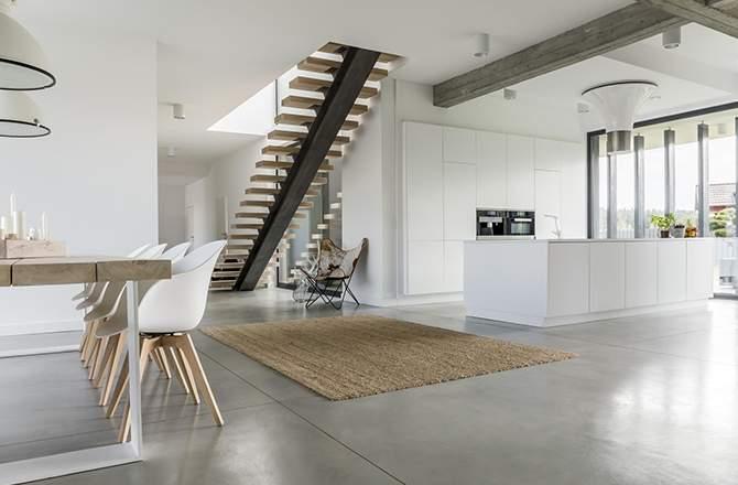 Style Moderne design salon cuisine modernité Saint-Gobain.fr