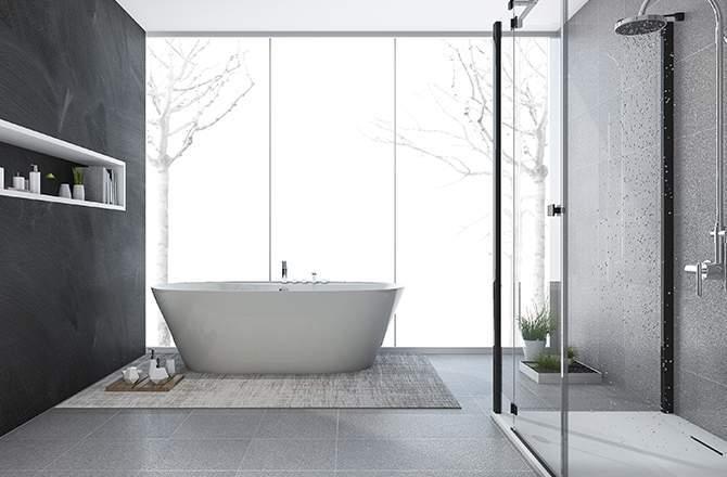 Style Moderne design salle de bain Saint-Gobain.fr