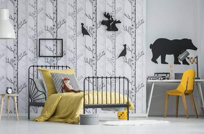 Style Pop chambre graphisme - Saint-Gobain.fr
