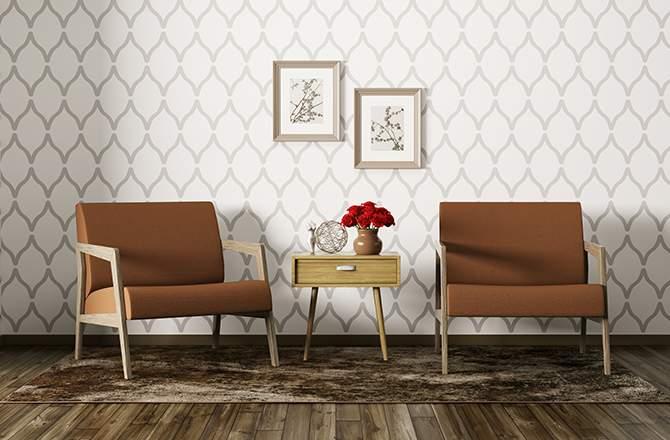 Style vintage fauteuils La Maison Saint-Gobain
