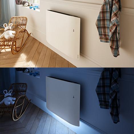 Radiateur design et lumineux