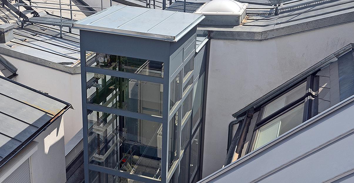 ascenseur privatif et adaptation aux contraintes d'un bâtiment