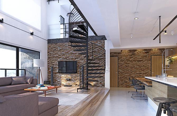 Aménager un duplex: l'escalier pièce maîtresse