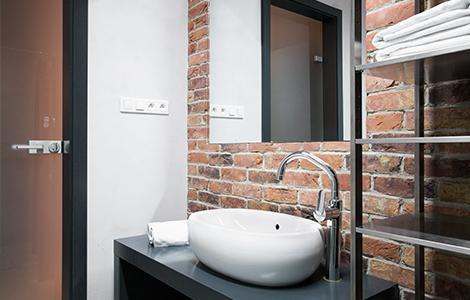 Aménager un souplex en salle de bain