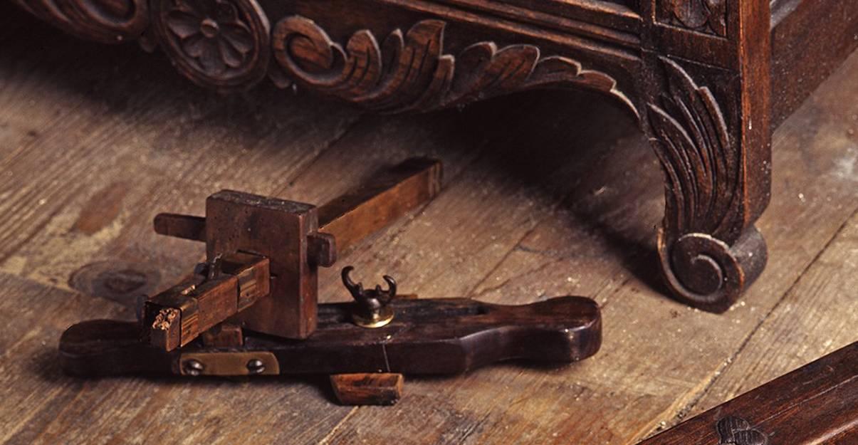 Outil-clé de la menuiserie : le tarabiscot