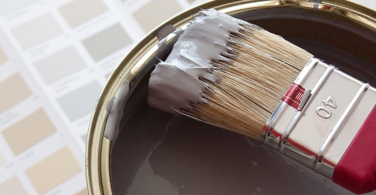 Etape importante : la mise à la teinte de la peinture