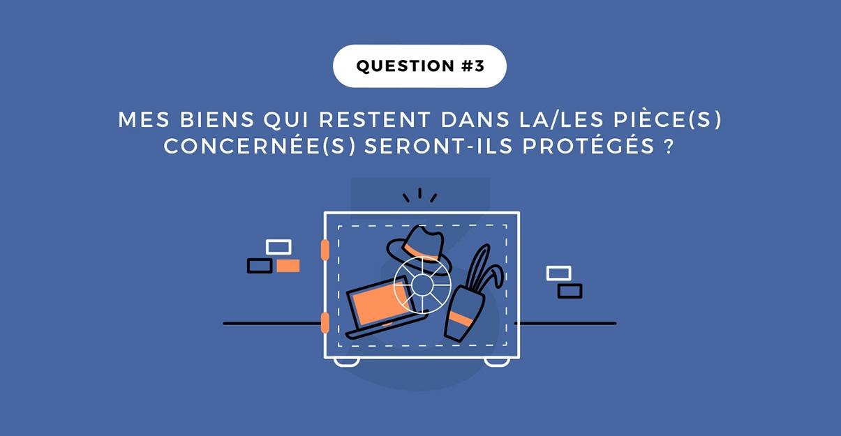Question 3: la protection de vos objets et de votre mobilier