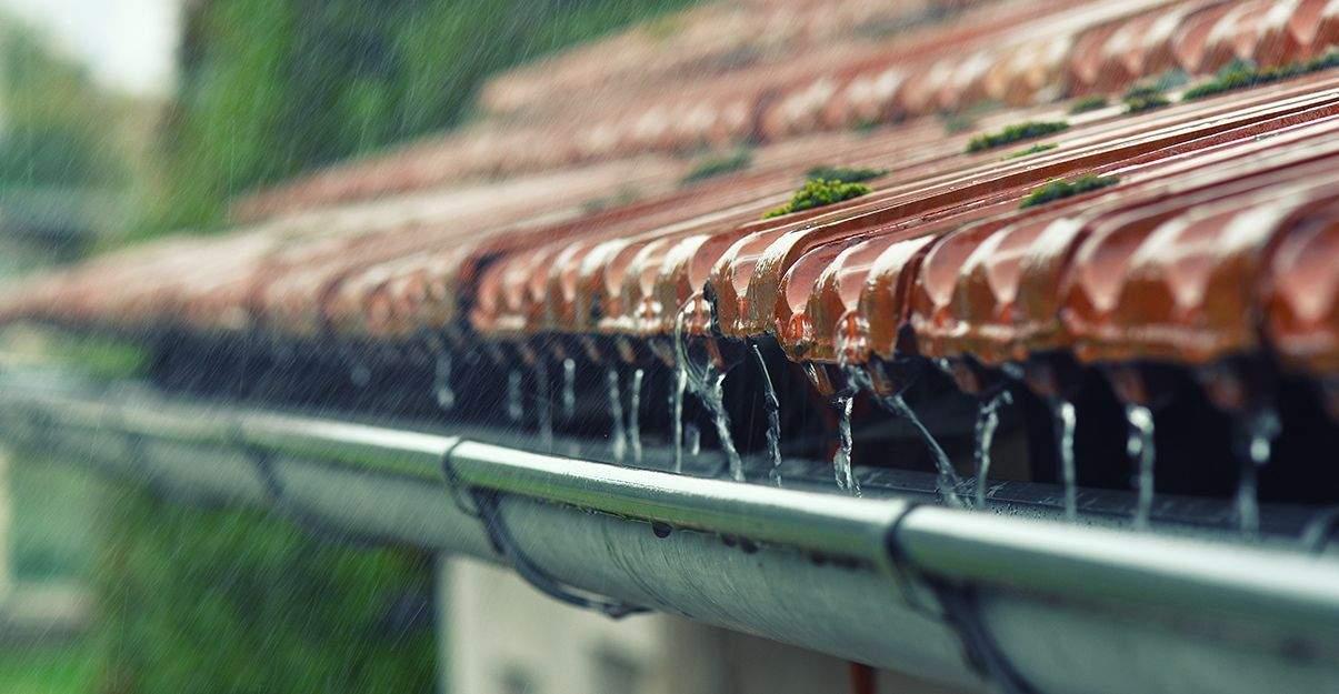 Rénovation maison centre France: la pluie