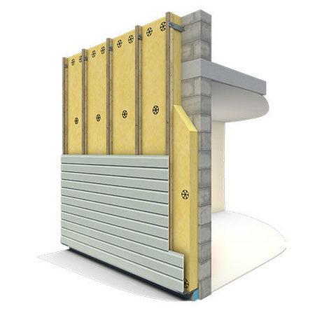 Isolant thermique et acoustique ISOFAÇADE 30