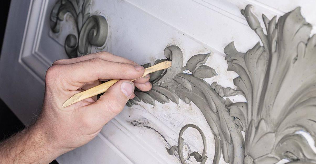 Le staffeur-ornemaniste : pour rénover des décors en plâtre.