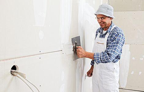Rénovation d'un mur intérieur: doublage en placo