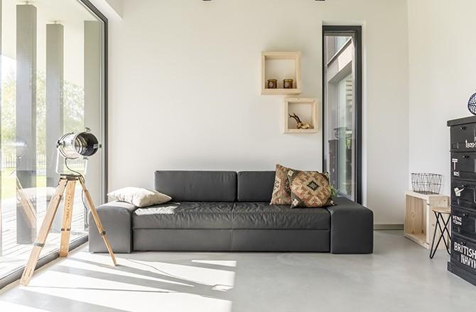Maison exposée plein sud: mix moderne design