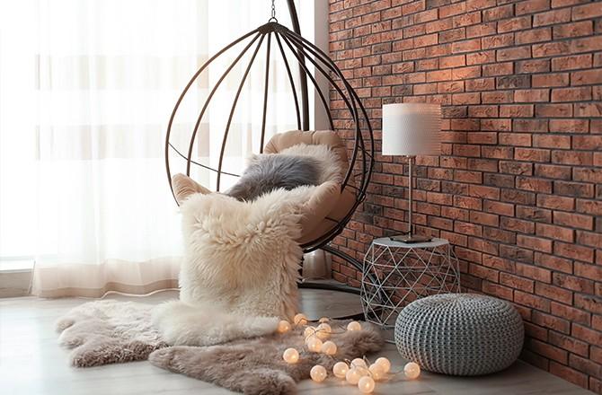 Moderniser un appartement: la brique