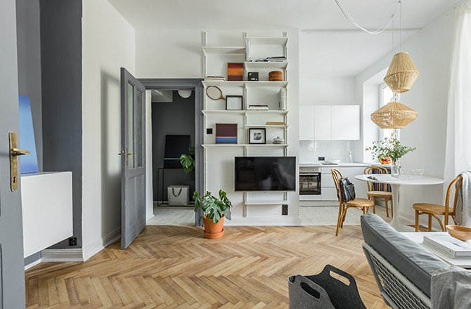 Moderniser un appartement: décloisonner