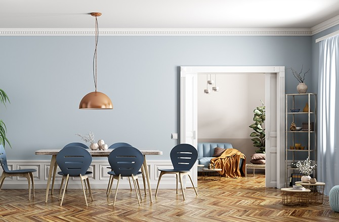 Moderniser un appartement avec un luminaire