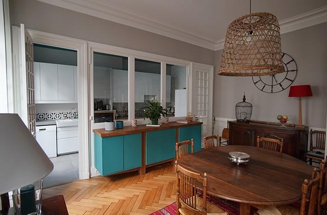 Moderniser un appartement avec une verrière