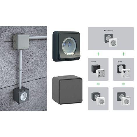Collection d'appareillages électriques Mureva Styl