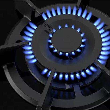 Table vitrocéramique gaz FlameSelect®