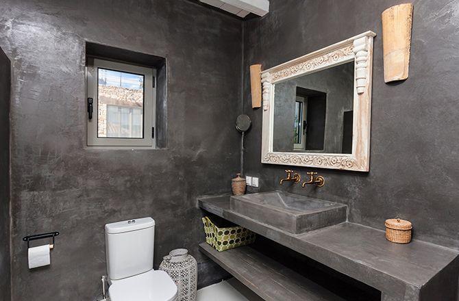 salle de bain en tadelakt