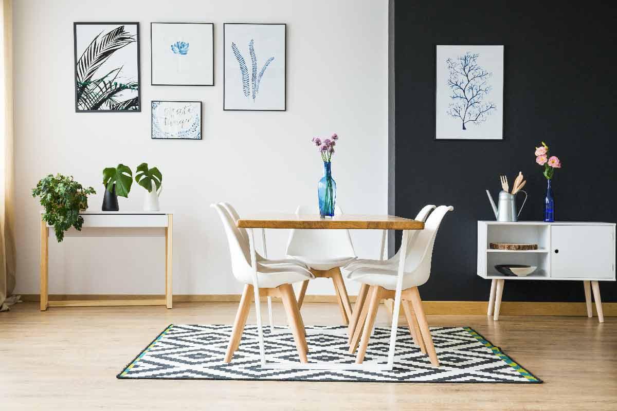 tapis ideal pour salle a manger
