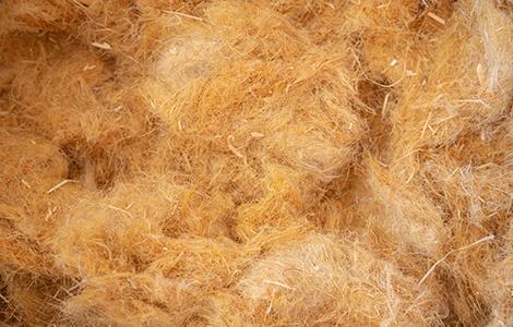 Isolants biosourcés: laine de chanvre